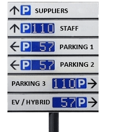 Space counting signs
